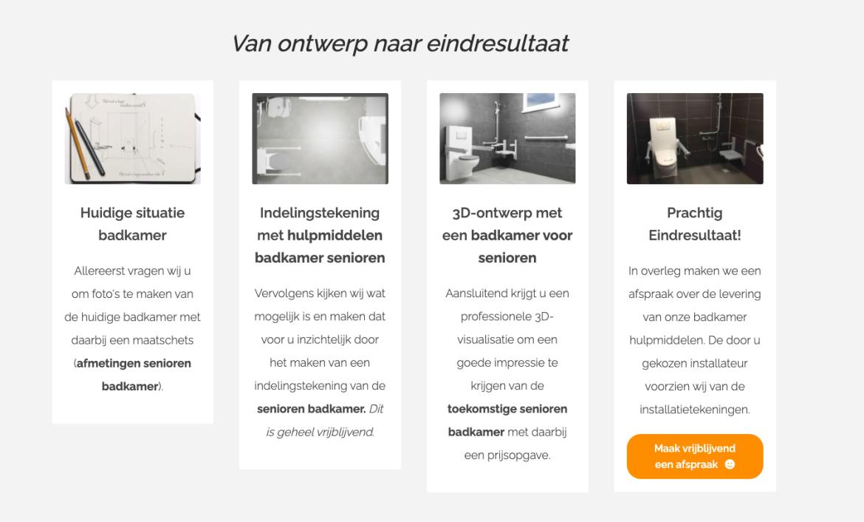 Aangepaste badkamer ouderen kopen? Bano Benelux staat voor je klaar