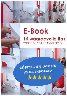 Download dit e-book en ontvang 15 waardevolle tips voor een veilige badkamer