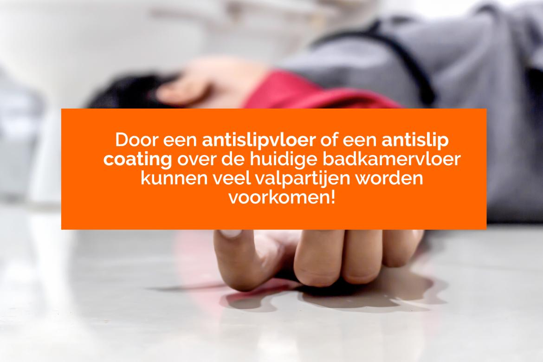 Hulp bij een gladde badkamervloer - Bano Benelux