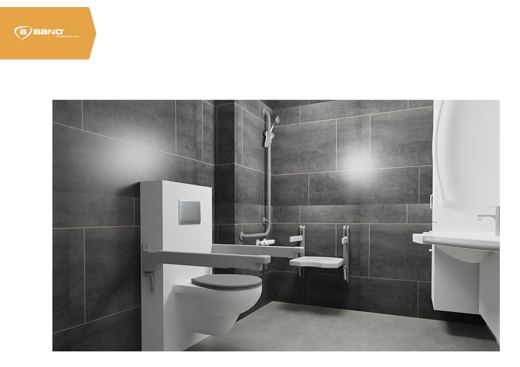 Senioren badkamer in 6 stappen - Professionele 3D-visualisatie en prijs