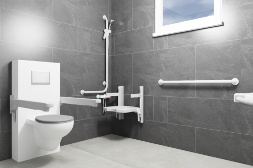 Senioren badkamer ontwerpen - 3D ontwerp