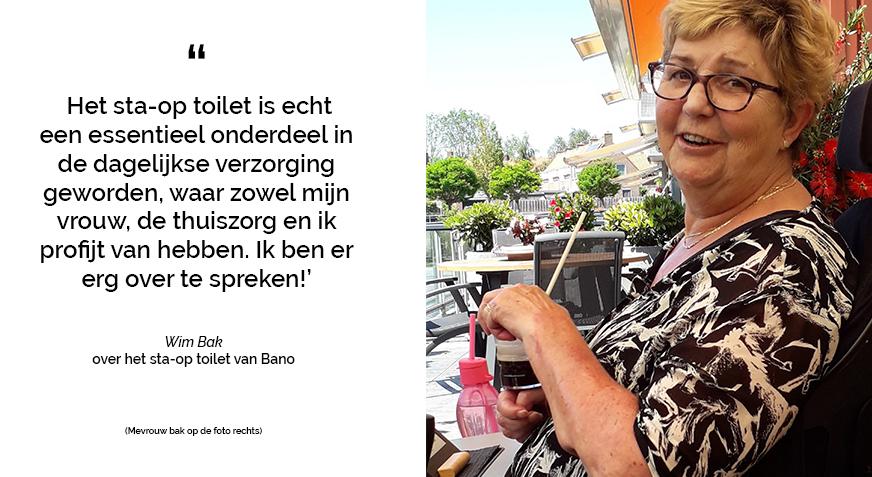Familie bak zeer tevreden over sta-op toilet van Bano