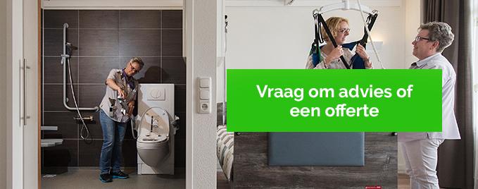 Sta-op toilet van Bano Benelux
