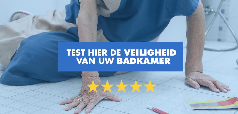 badkamer veiligheidstest van Bano Benelux