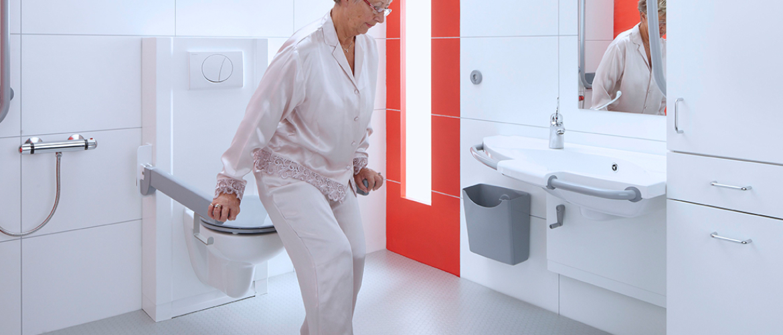 verstelbaar toilet