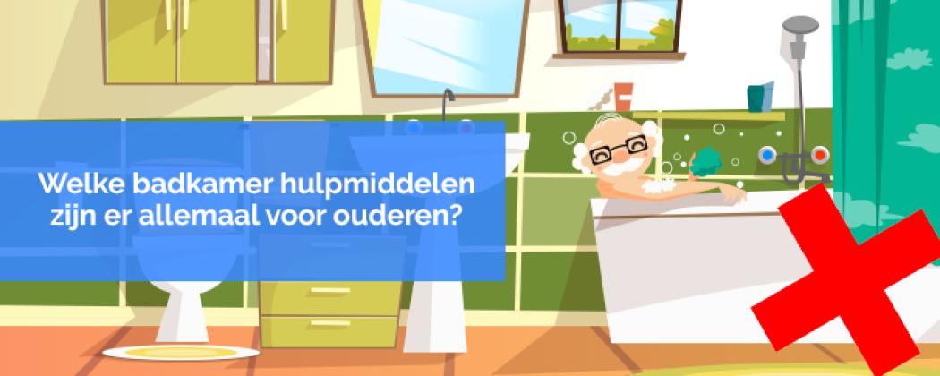 Welke badkamer hulpmiddelen zijn er allemaal voor ouderen?