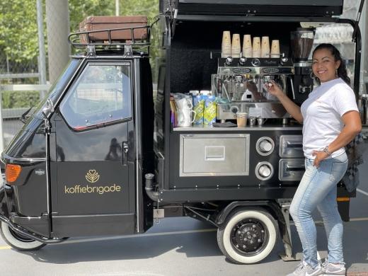 Barista huren Heidi voor koffie op locatie