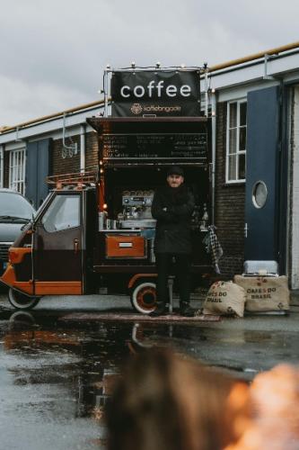 Justin Piaggio koffie