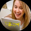 trompetles online trompet leren spelen
