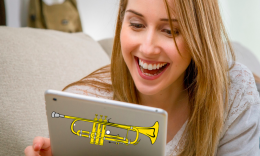 online trompetles