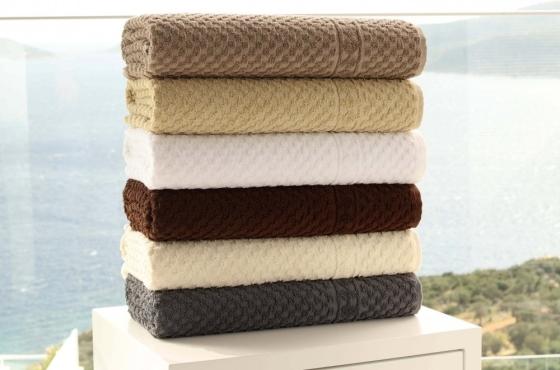 wafel handdoek