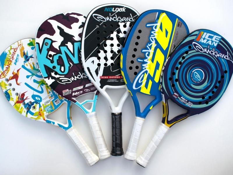 Quicksand Colibri Kombat No Look Black F50 Iceman Shop Koop Store beach tennis rackets