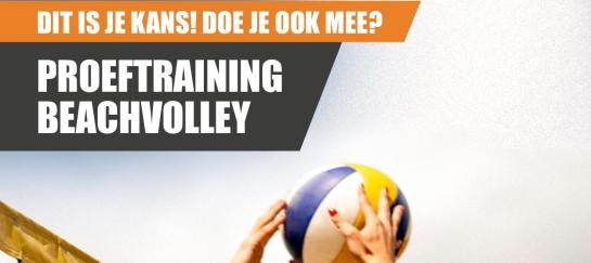 beachvolleybal training lessen indoor