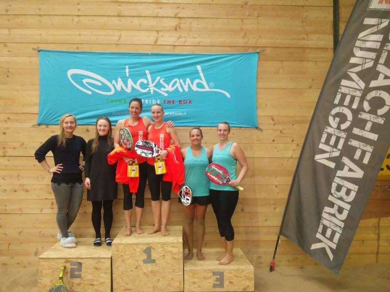 Winnaars internationaal beachtennis toernooi Beachfabriek Quicksand