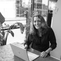 Muriel coacht online met als doel leiderschapsontwikkeling