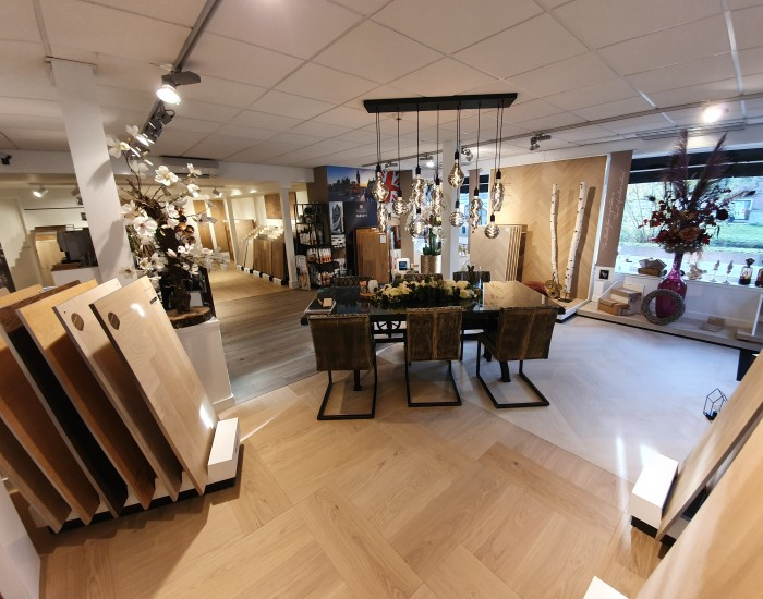 Showroom van Berk Parketvloeren