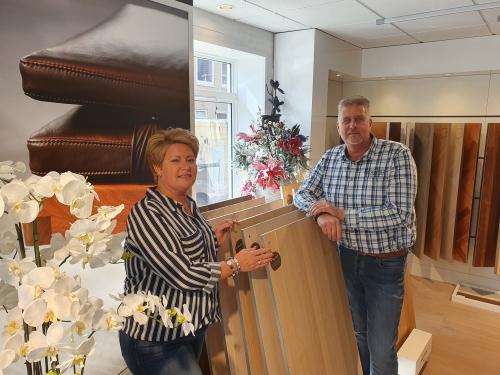 Chris en Jolanda de Berk van Berk Parketvloeren
