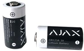 AJAX CR123A battery
