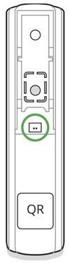 AJAX DoorProtect Plus handleiding draaddetector aansluiten