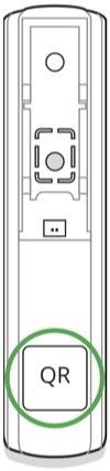 AJAX DoorProtect handleiding QR code