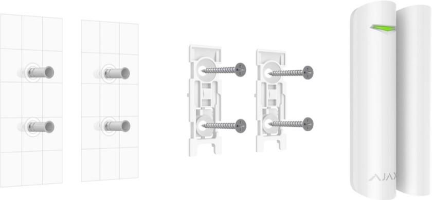 AJAX DoorProtect Plus installation manual