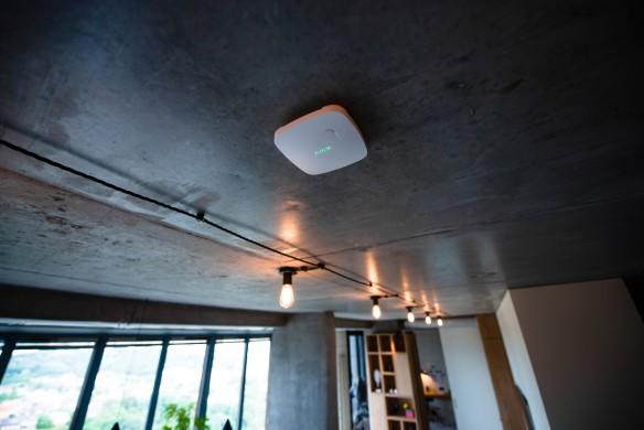 AJAX FireProtect Plus plafond montage