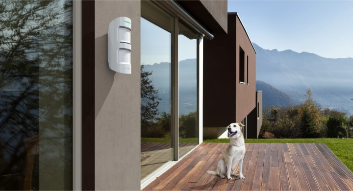 AJAX MotionProtect Outdoor where to place example