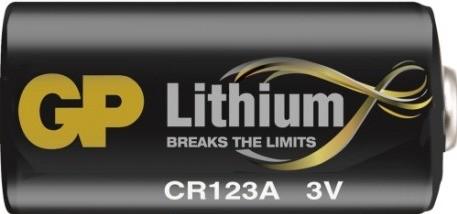 GP CR123A battery for AJAX alarm system