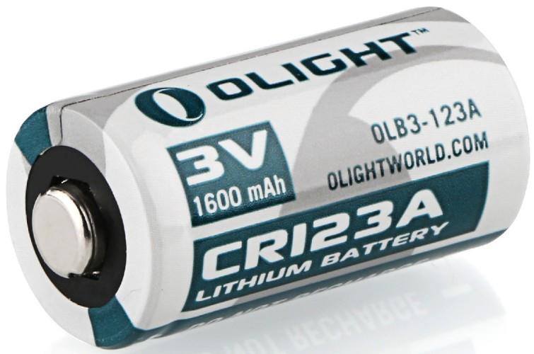 Olight CR123A battery for AJAX alarm system