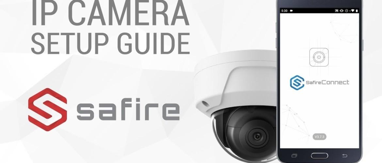 Manual de instalación de la cámara Safire DM934