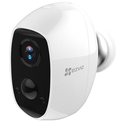 EZVIZ compacte draadloze infrarood camera op batterij
