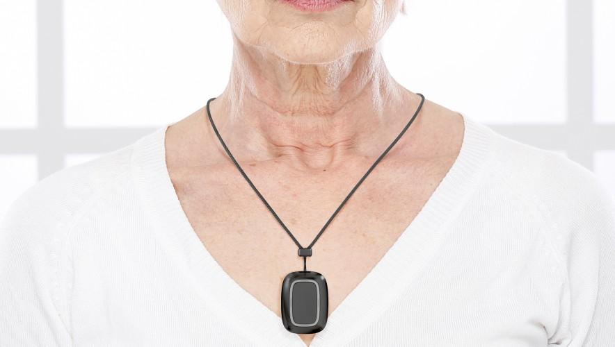 AJAX Button necklace
