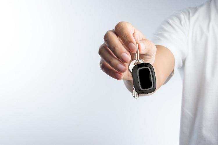 AJAX Button keychain