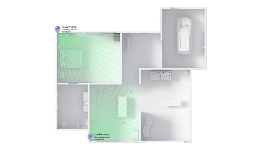 AJAX CombiProtect room security