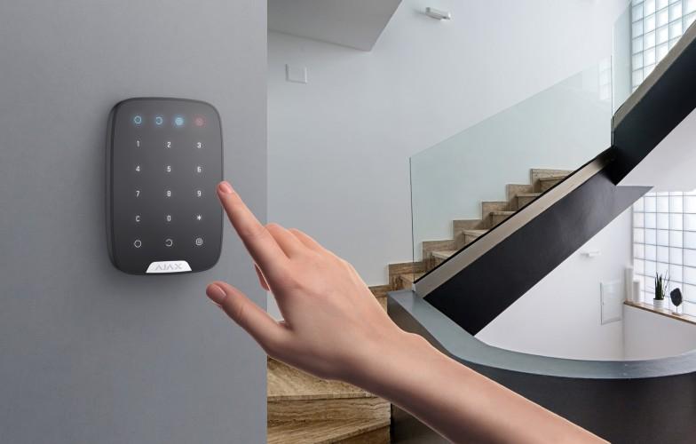 AJAX Keypad inside a property