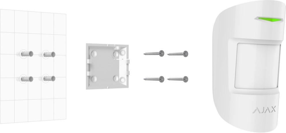 AJAX MotionProtect installation manual