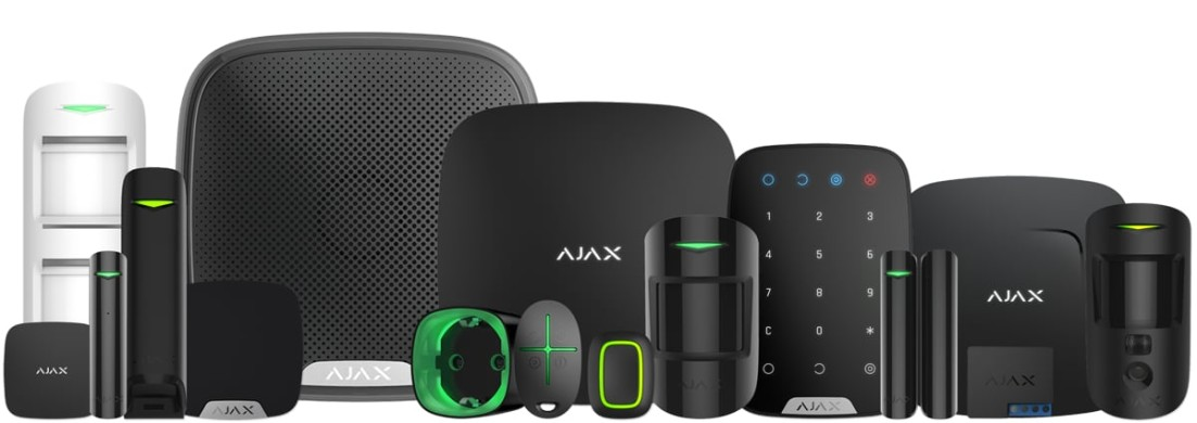 AJAX wireless alarm system