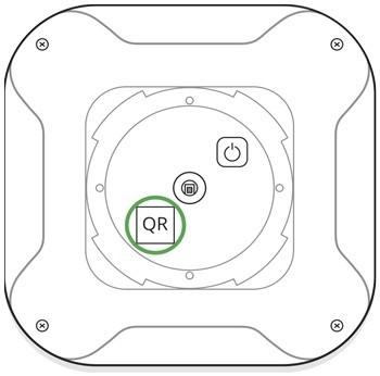 AJAX FireProtect handleiding aanmelden middels QR code