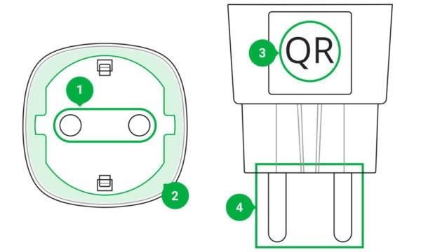 AJAX Socket Manual functional elements