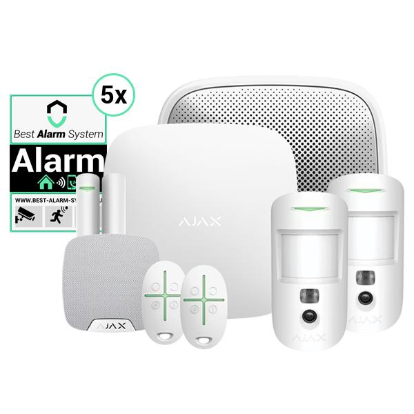AJAX Alarmsysteem startpakketten