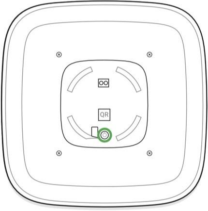 Replace batteries in the AJAX StreetSiren step 3