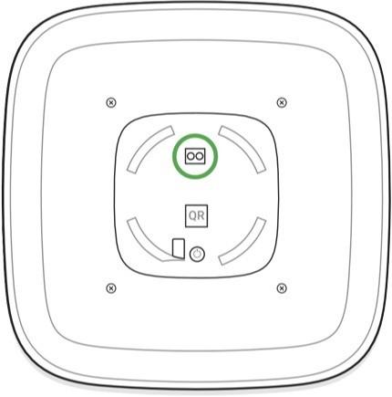 AJAX StreetSiren handleiding batterij vervangen stap 4