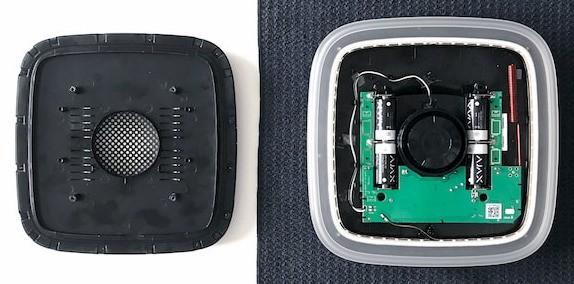 AJAX StreetSiren handleiding batterij vervangen stap 8