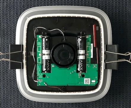 AJAX StreetSiren handleiding batterij vervangen stap 10
