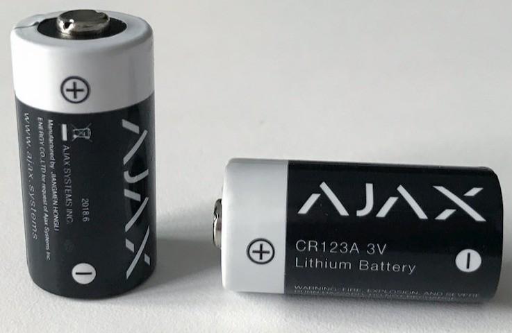 AJAX StreetSiren handleiding batterij vervangen stap 11