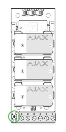 AJAX Transmitter manual