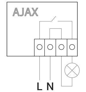 AJAX WallSwitch manual
