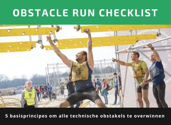 Obstacle-run-checklist