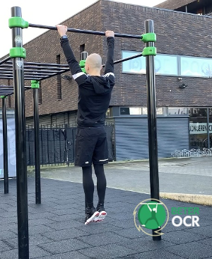pullup warming-up