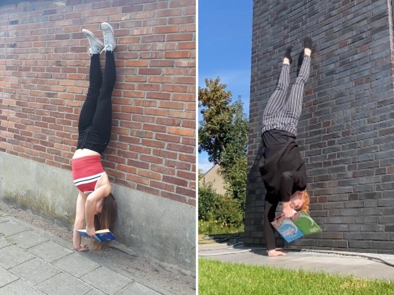 Handstand turnchallenge